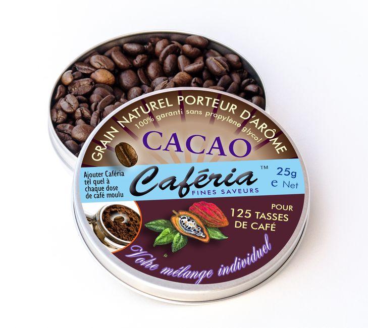 Schokoladen-Kaffee, Schoko Kaffee mit Caferia Chocolat im Handumdrehen selber zubereiten - so macht aromatisierter Kaffee Spaß