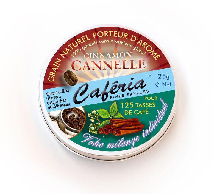 Zimtkaffee lässt sich mit normalem Zimt nicht so leicht aromatisieren. Mit Caferia ist ein aromatisierter Kaffee im Handumdrehen hergestellt.